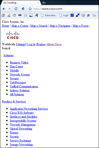Cisco FAIL